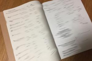 ニート生活から脱出したときのノートの画像